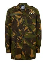 TOPMAN Camouflage Street Style Long Sleeves Shirts