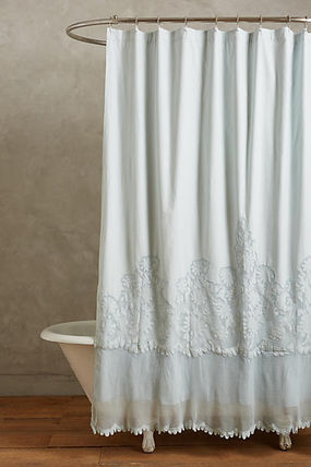 Flower Patterns Plain Curtains