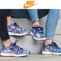 Nike AIR PEGASUS Camouflage Casual Style Low-Top Sneakers