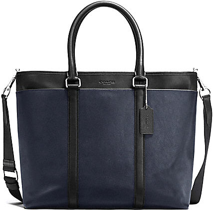 Perry leather business tote F54758