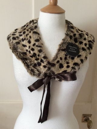Primark Leopard Patterns Casual Style Detachable Collars