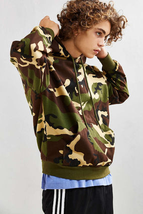 ROTHCO Hoodies Pullovers Camouflage Sweat Street Style Long Sleeves Hoodies