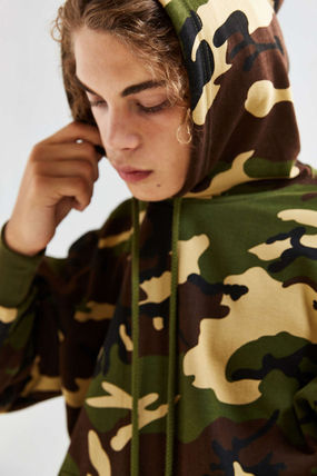 ROTHCO Hoodies Pullovers Camouflage Sweat Street Style Long Sleeves Hoodies 5