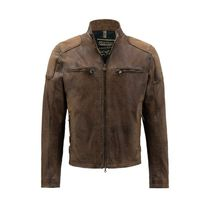 Matchless Short Plain Leather Biker Jackets