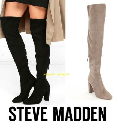 Emotions knee high boots