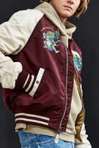 ALPHA INDUSTRIES Short Street Style Souvenir Jackets