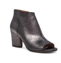 Maison Martin Margiela Open Toe Plain Leather Elegant Style Ankle & Booties Boots
