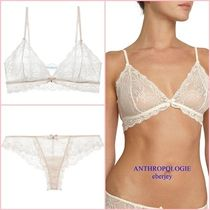 Anthropologie Plain Lace Lingerie Sets