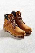 Timberland Plain Toe Mountain Boots Street Style Plain Leather