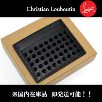Christian Louboutin Unisex Studded Leather Folding Wallets