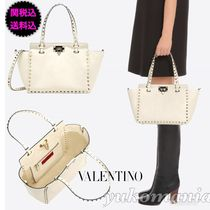 VALENTINO Leather Totes