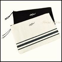 wtw Stripes Unisex Clutches