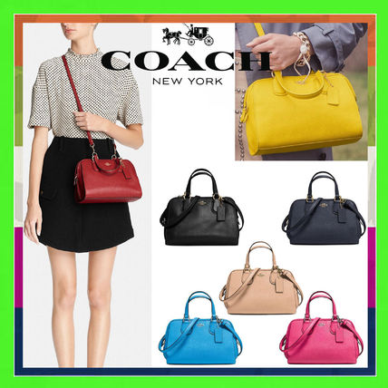 Coach NOLITA Casual Style 2WAY Leather Shoulder Bags