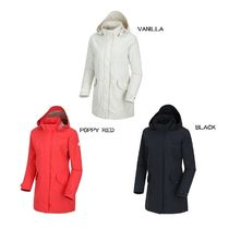 THE NORTH FACE Stripes Casual Style Wool Street Style Plain Long