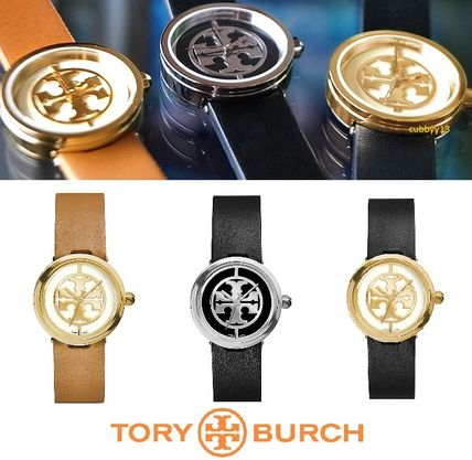 Logo Leather Watch watches