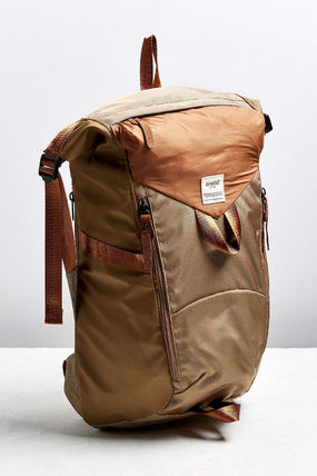 Nylon Street Style A4 Plain Backpacks