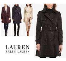 Ralph Lauren Plain Medium Office Style Trench Coats