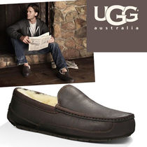UGG Australia ASCOT Straight Tip Loafers Plain Leather Loafers & Slip-ons