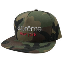 Supreme Camouflage Street Style Hats