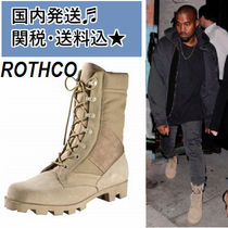 ROTHCO Suede Street Style Engineer Boots