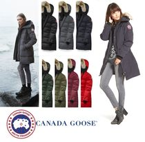CANADA GOOSE SHELBURNE Fur Plain Medium Down Jackets