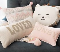 Pottery Barn Black & White Characters Decorative Pillows