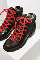 WOOLRICH Platform Plain Toe Mountain Boots Casual Style Street Style