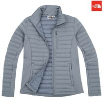 THE NORTH FACE Stripes Casual Style Wool Street Style Plain Medium Jackets