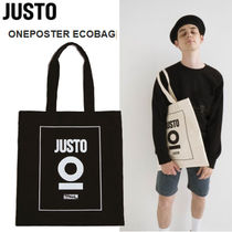 JUSTO Canvas Street Style Totes