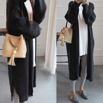 Long with cardigan pocket open line