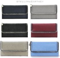 Stella McCartney FALABELLA Plain Long Wallets