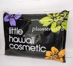 Flower Patterns Nylon Pouches & Cosmetic Bags