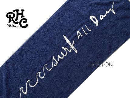 Ron Herman Surf All Day face towel dark blue gift