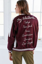 OBEY Short Casual Style Street Style Souvenir Jackets