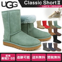 UGG Australia CLASSIC SHORT Rubber Sole Fur Boots Boots
