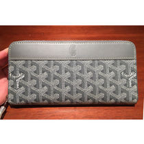 GOYARD Unisex Leather Long Wallets