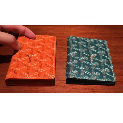 Goyard mens bifold cardholder color each color GOYARD