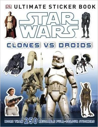 Star Wars sticker book English version