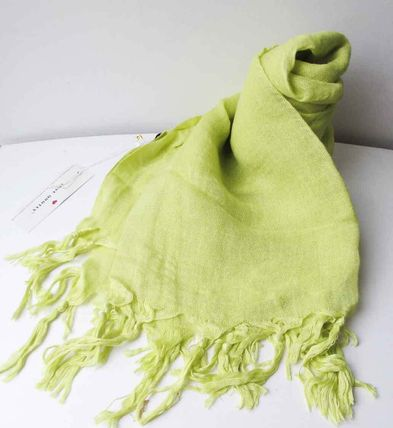 Linen Plain Lightweight Scarves & Shawls