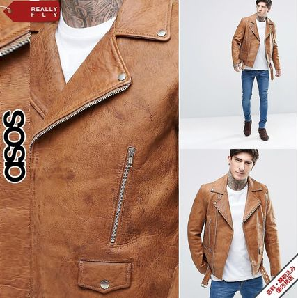 popular ASOS leather by car jacket