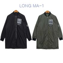 Studded Long MA-1 Bomber Jackets