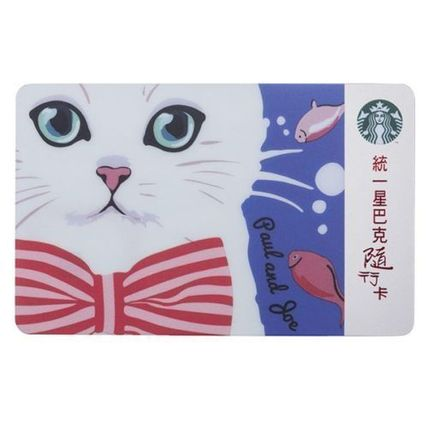 PAUL Nana Taiwan exclusive Starbucks card abroad