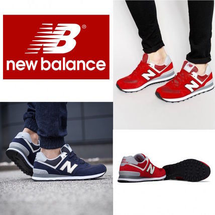 New Balance 574 Suede Plain Sneakers