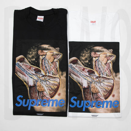 16 AW UNDERCOVER Anatomy Tee collaboration