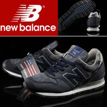 New Balance 996 Camouflage Leather Sneakers