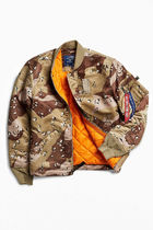 ALPHA INDUSTRIES Short Camouflage Street Style Collaboration MA-1