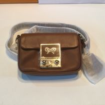 Anya Hindmarch Casual Style 2WAY Chain Plain Leather Shoulder Bags