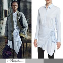 3.1 Phillip Lim Long Sleeves Cotton Shirts & Blouses