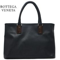 BOTTEGA VENETA A4 Plain PVC Clothing Totes