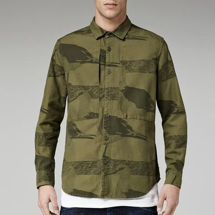 G-star RAW sister law Camo camouflage military shirts